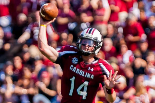 Connor Shaw Puts Clamps on Starting Quarterback Job in South Carolina
