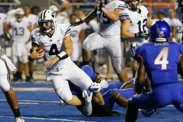 BYU Football: Could ULM's Two-QB System Work for the Cougars?