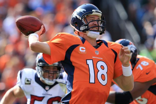 Peyton Manning: Arm Strength Will Hold Broncos Offense Back from Potential