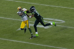 Seattle Seahawks Brandon Browner Takes a Cheap Shot at Greg Jennings