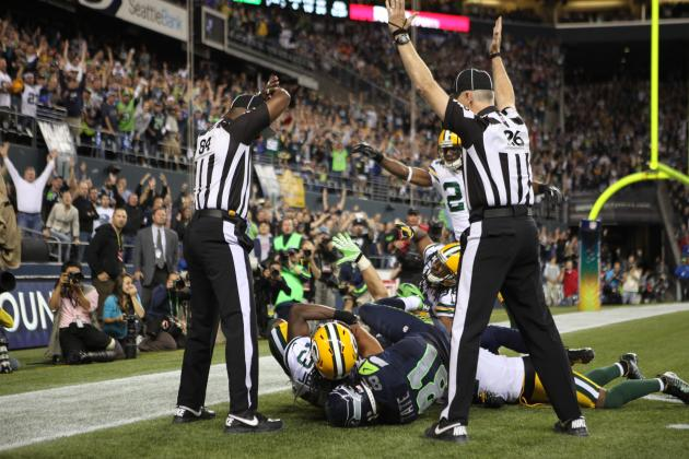 Green Bay Packers-Seattle Seahawks Controversial Call Blows Up Twitter