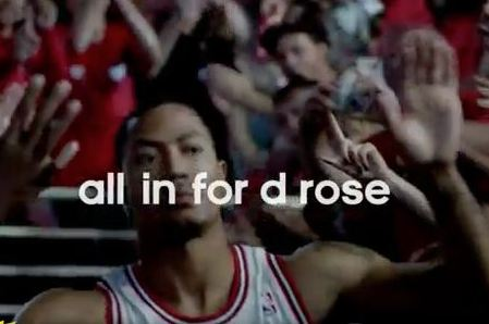 Derrick Rose Video:  New Commercial