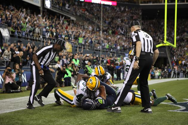 Green Bay Packers Are Sleepless in Seattle After Being Robbed by Replacement Ref
