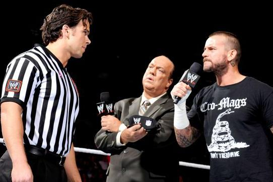 WWE Raw Results: How Paul Heyman's Referee Blindfold Makes WWE Relevant