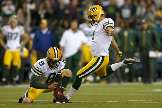 NFL Week 4: 2012 Fantasy Football Kicker Rankings
