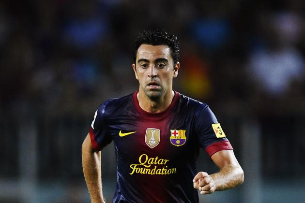 Xavi: Barca Legend Gunning for Golden Foot Award