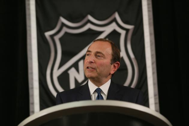 NHL Lockout: Gary Bettman and Donald Fehr Mingle, No Talks Scheduled
