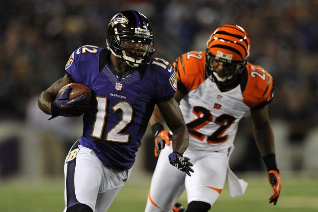 Jacoby Jones: Baltimore Ravens WR Is a Great Add for Struggling Fantasy Owners