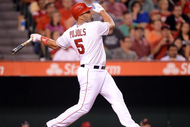 Pujols Hits 100-RBI Milestone Again