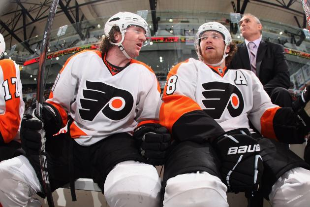 Claude Giroux and Scott Hartnell Are Growing Lockout Beards