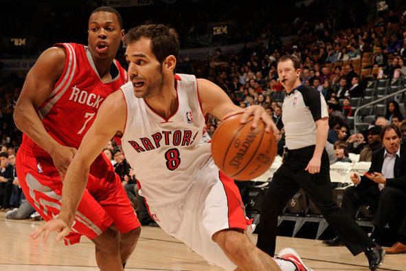 Calderon Is Making the Best of His Uneasy Status with the Raptors … Again