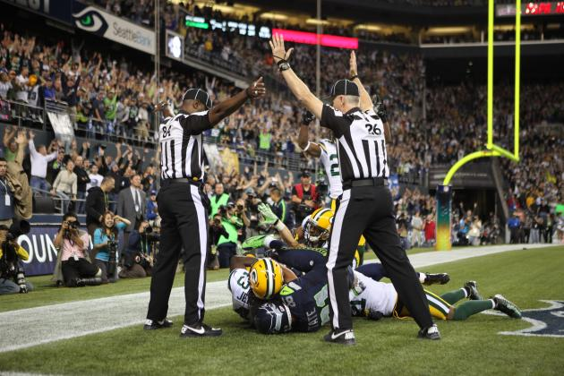Breaking Down Why Seattle Seahawks' Hail Mary Was an Officiating Travesty