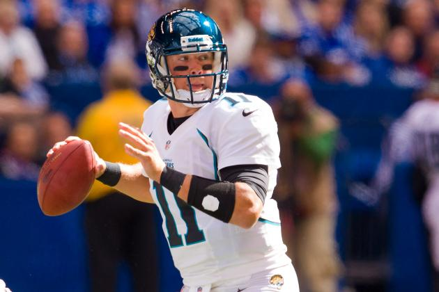 Jaguars Still Looking for Blaine Gabbert to Show He's a Starter in the NFL