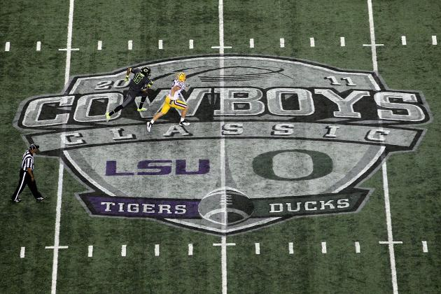 LSU Football: Tigers Will Get Tough Test vs. TCU in Cowboys Classic to Open 2013