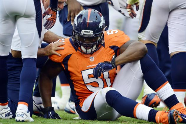 What One-Game Suspension of Joe Mays Means for the Broncos