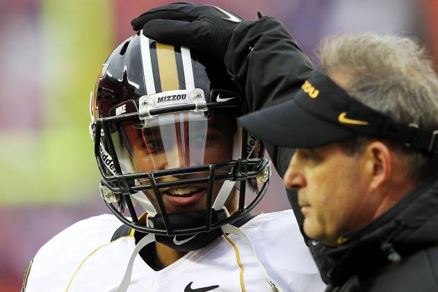 Pinkel Says He Expects Junior QB Franklin to Improve