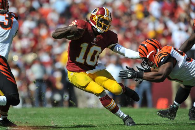 2012 NFL Week 4 Fantasy Projections: RG3 Quickly Becoming Fantasy Stud