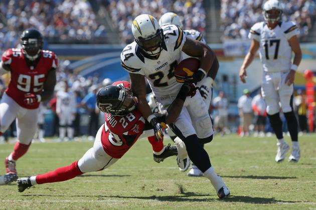 Ryan Mathews: Ball Security Is Major Concern for San Diego's Oft-Injured RB