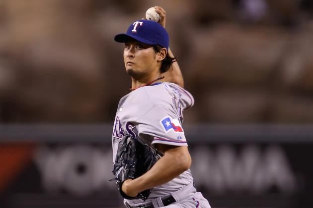 Yu Darvish Scratched with Neck Stiffness