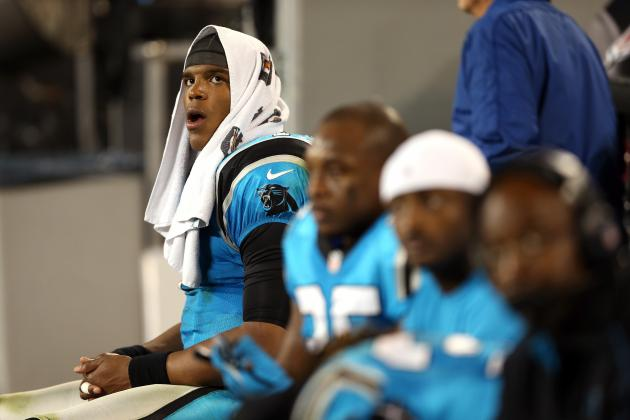 Cam Newton, Steve Smith Quarrel on the Sidelines, and More NFC South News