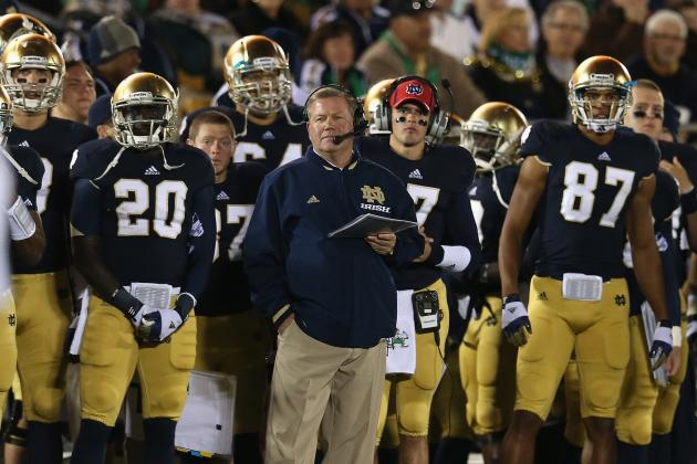 Notre Dame Football: Irish Haven't Peaked Despite Unblemished Record