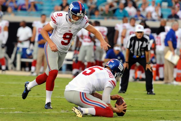 Lawrence Tynes: New York Giants Kicker Headed for an All-Pro Season