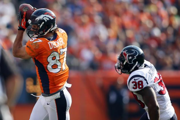 Eric Decker Is Emerging as Peyton Manning's Favorite Target