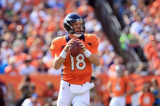 Peyton Manning Will Prove He's Still an Elite Fantasy QB vs. Raiders in Week 4