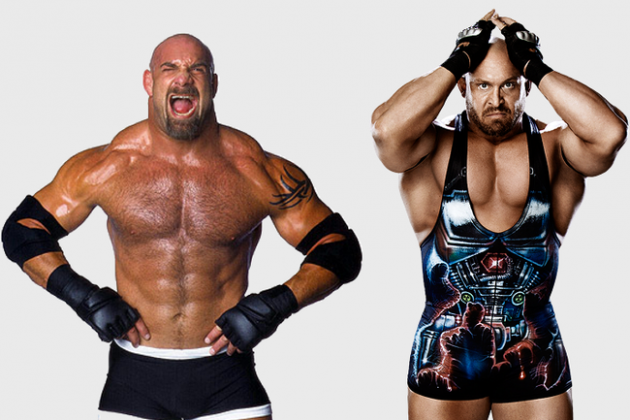 Ryback vs. Miz Recalls Back to Goldberg and the Ultimate Warrior