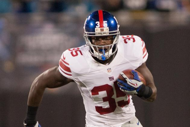How Will Giants' RB Situation Work Now?