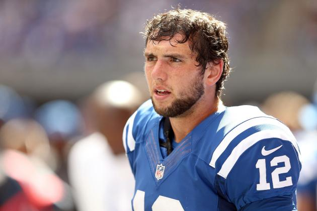 Andrew Luck: Why the Rookie's Season Is About to Take a Turn for the Worse