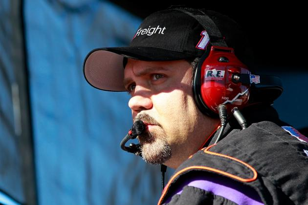What Was Winning Crew Chief Darian Grubb Trying to Hide Sunday?