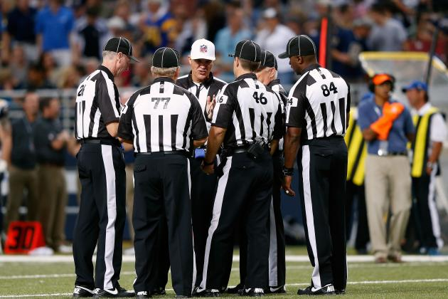 Report: NFL and NFL Referees Close to Agreement