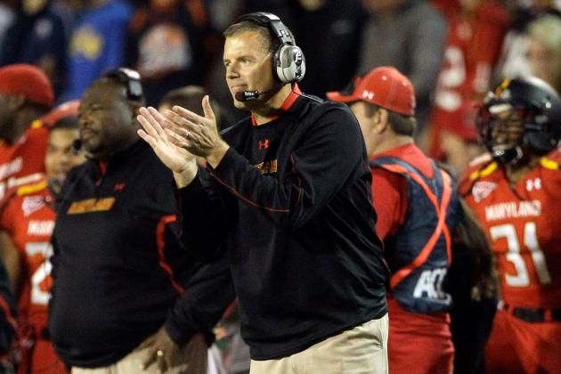 Randy Edsall Likes Improvements, Displeased at Maryland's .500 Record