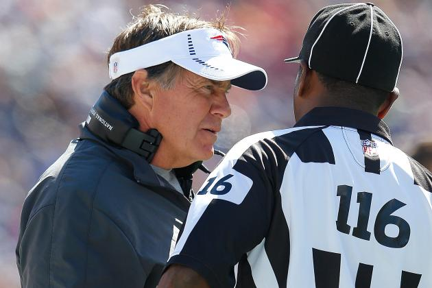 Bill Belichick Fined $50K for Touching Official