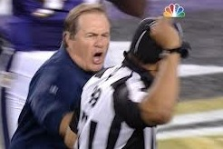 Bill Belichick Fined $50,000 for Bumping NFL Official Following Loss to Ravens
