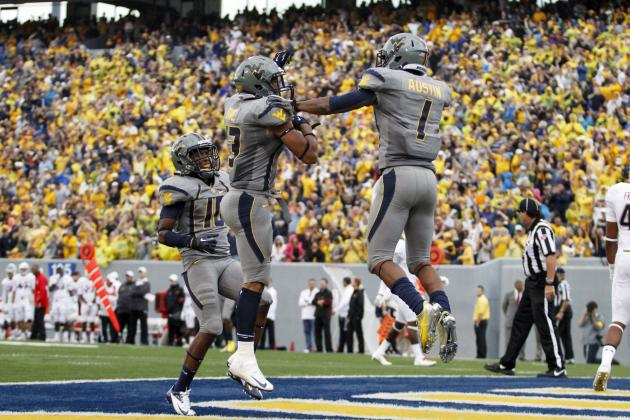 WVU 12 1/2-point favorite in its first-ever Big 12 game