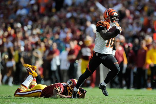 Andrew Hawkins: Projecting Bengals WR's Output at Jacksonville