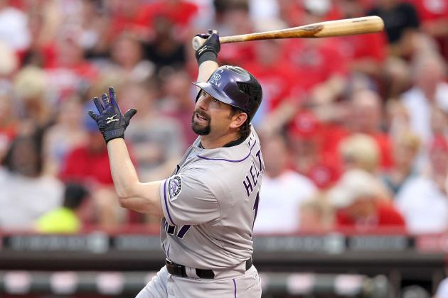 Colorado Rockies' Todd Helton, Free of Hip Pain, Wants to Play in 2013