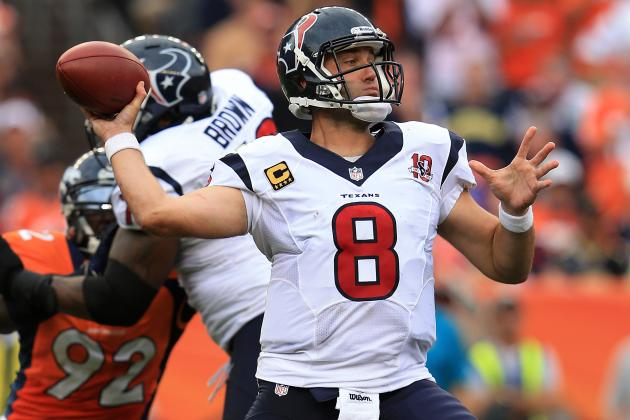 Joe Mays Suspended One Game, Fined $50,000 for Hit on Texans' Schaub