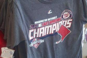 "Kohl's Is Selling Nationals ""NL East Division Champions"" Shirts"