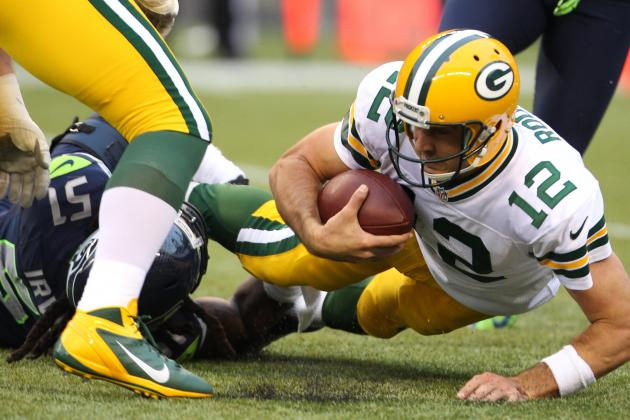 Breaking Down Blame for Every Sack Green Bay Packers Allowed on 'MNF'