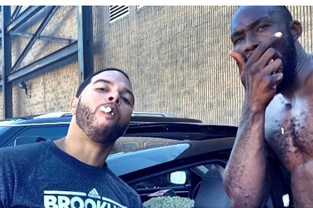 Deron Williams and Other Brooklyn Nets Fill Marshon Brooks' Car with Popcorn