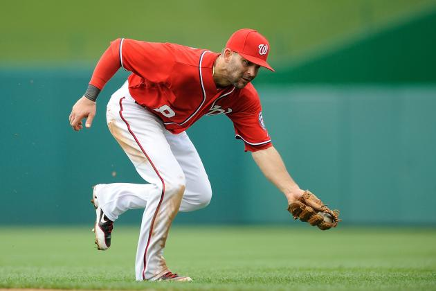Nationals-Phillies Lineups: Danny Espinosa out as Nationals Face Kyle Kendrick