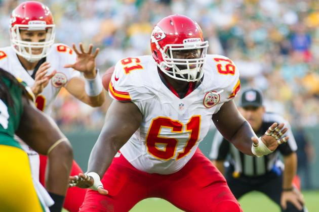 Loss of Rodney Hudson a Big Blow to Kansas City's Offensive Line