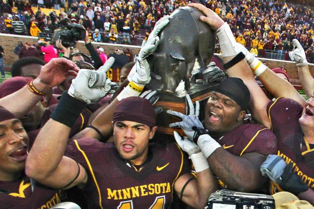 Minnesota Gophers vs. Iowa Hawkeyes: Previewing the Battle for Floyd the Pig