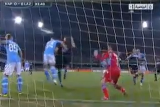 Watch Miroslav Klose Put the Ball in the Net with His Hand and Admit It to Ref
