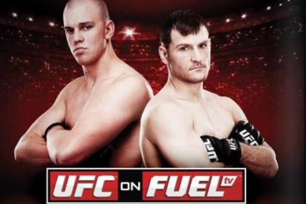 UFC on Fuel TV 5: Fight Card, TV Info, Predictions & More for Struve vs. Miocic