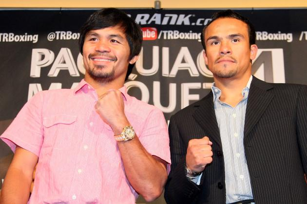 Manny Pacquiao: Goal of Knocking out Juan Manuel Marquez Is Dangerous
