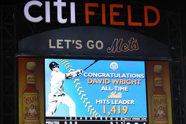 Wright Breaks Mets' Mark for Career Hits in Win
